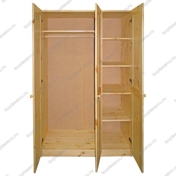 Шкаф 3 х дверный